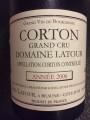 Louis Latour Corton Grand Cru 2006