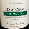 Domaine Henri Gouges Les Pruliers Nuits St Georges 2011 1.5L