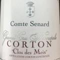 Comte Senard Corton Clos des Meix 2010
