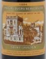 Chateau Ducru Beaucaillou 寶嘉龍酒莊干紅葡萄酒 年份:1994
